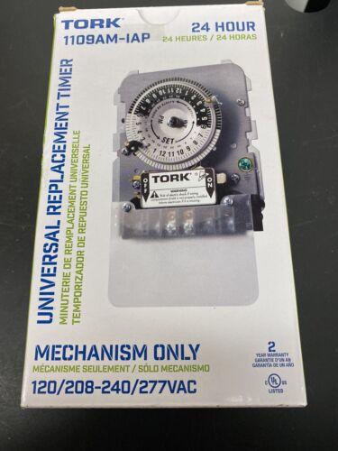 Tork Timer 24Hr Time Switch 40A 120//208-277V Indoor Mechanism only