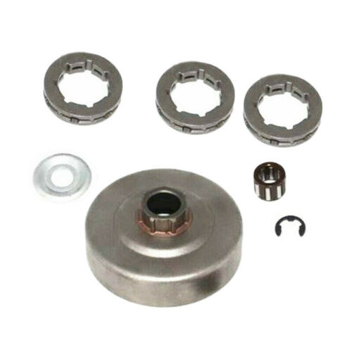 Clutch Drum 7 Tooth Sprocket Bearing 3//8 Pitch For Stihl 034 036 039 MS290 MS310