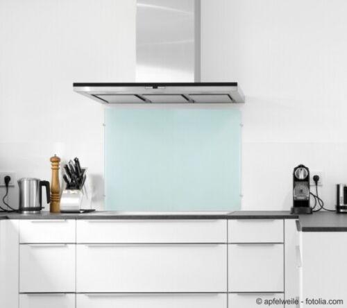 Glas-Küchenrückwand Spritzschutz Herd Fliesenspiegel G ... *Frosty* 140x50cm