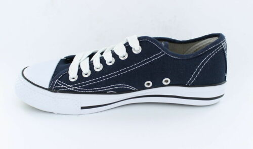 Spot On X0001 Child/'s Navy Lace Up Sneaker Style Canvas Pumps