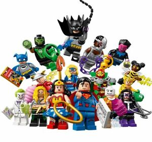 LEGO 71026 DC Super Heroes Complete Set of 16 Minifigures SEALED NEW IN HAND