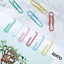 Mr Assorted Bright Colors 2 Inch Pen- Paper Clips Colored Paper Cl 240 Pack