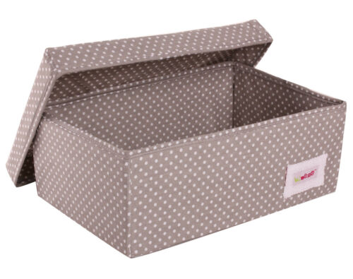 Minene SMALL collapsible storage box with lid 14 colours!