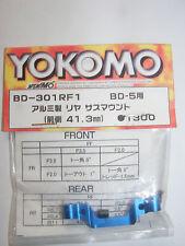 Yokomo BD-301RF1 Aluminium Suspension Mount, 41.3mm Blue, for BD5