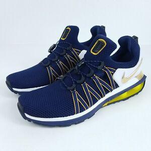 47d294a3d2c3b NIKE Shox Gravity Mens Sz 11 Shoes Midnight Navy Metallic Gold RARE ...