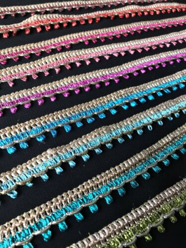 1Metre Upholstery//Cushion 17mm Military Style Braid Trim//Lace//Gimp