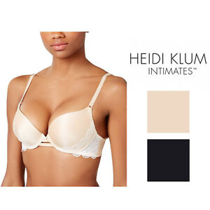 24408edb4e Image is loading Heidi-Klum-Super-Boost-Geometric-Lace-Bra