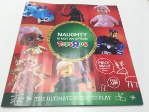 image is loading toys r us 2017 christmas toy catalog book