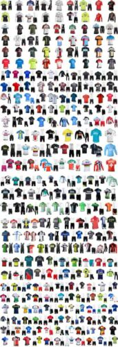 Men Cycling Jersey Short Sleeve Road Bike MTB Fast Dry Women Team Clothing Sport