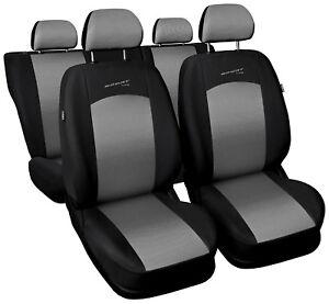 full set Leatherette black Car seat covers fit VOLKSWAGEN PASSAT B6