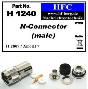 1-Stueck-N-Stecker-fuer-H-2007-Aircell-7-Highflexx-7-Koaxkabel-50-H1240