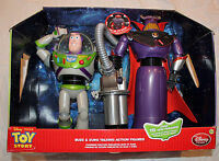Toy Story Collector Set Talking 12 Buzz Lightyear & 14 Zurg