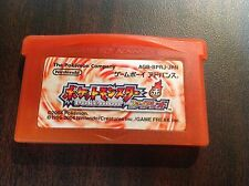 Pokemon Fire Red Japanese Pocket Monsters GBA ~USA SELLER~ Memory Saves