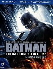 DCU: Batman - The Dark Knight Returns, Parts 1 and 2 (Blu-ray/DVD, 2013, 2-Disc…