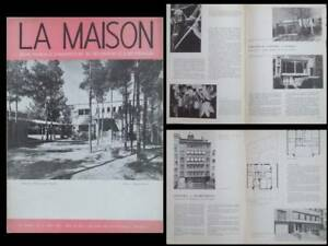 Acheter Pas Cher La Maison N°5 1955 Maxime Brunfaut, Aerts Et Ramon, Kraainem, Bengt Gate Grandes VariéTéS