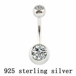 Sterling Silver Belly Ring Ships USA