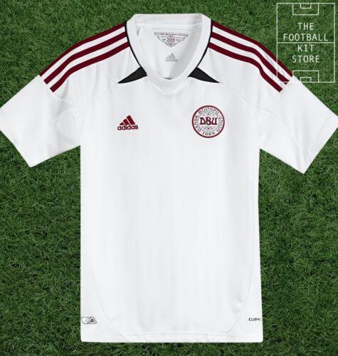 Denmark Away Shirt - Official Adidas Boys Football Shirt - All Sizes