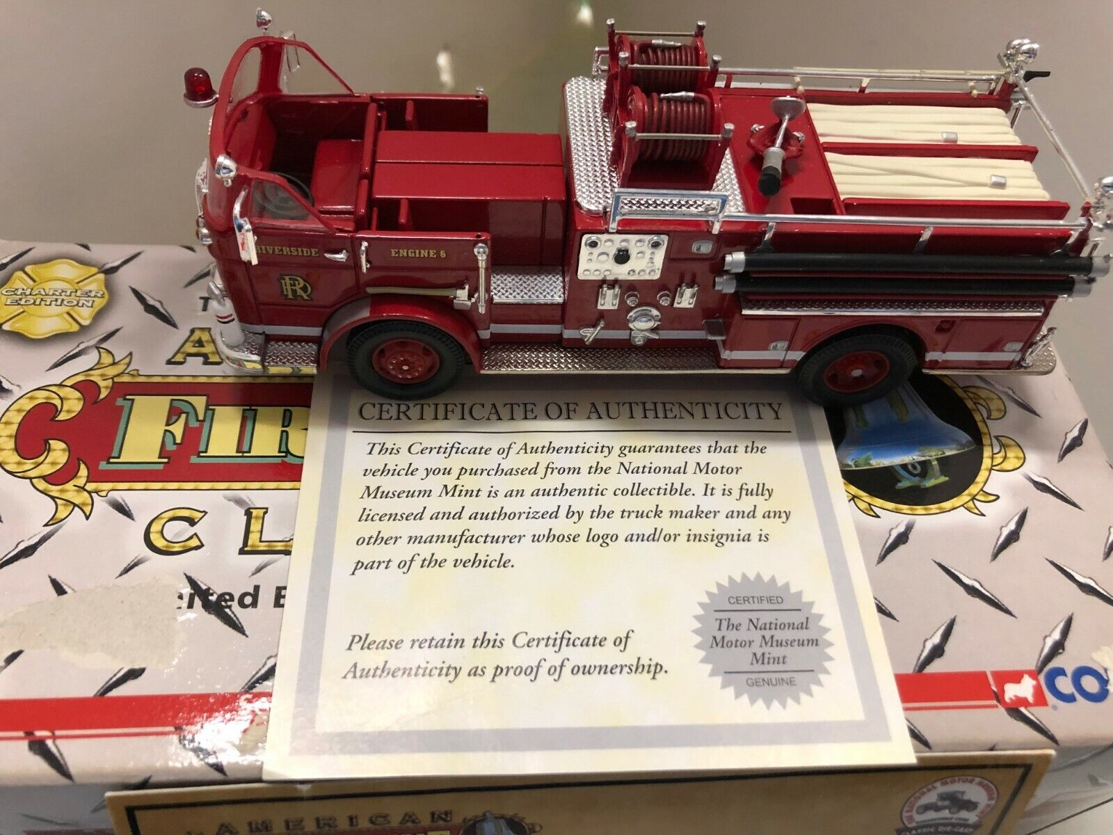 CORGI US50811 SEAGRAVE K RIVERSIDE FIRE DEPARTMENT