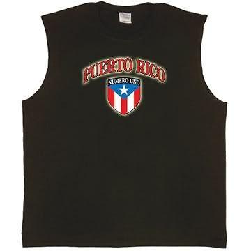Puerto Rico Rican flag Tee tank top Sleeveless T-shirt