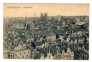 Bruxelles-Panorama-Photo-Postcard-1928