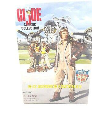 GI Joe B-17 Crewman Leatherette Gloves and Scarf 1//6 Scale WW II