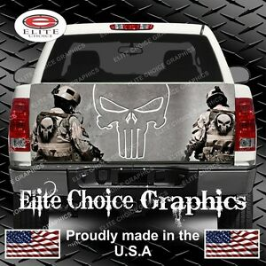 Military Army Navy Marine Infidel Truck Tailgate Wrap