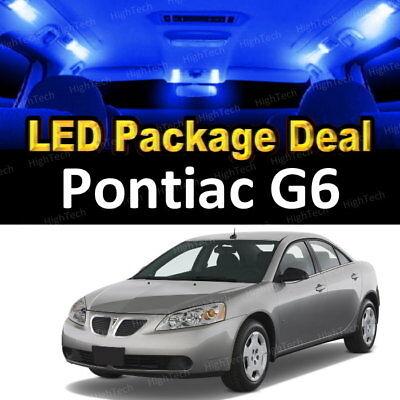For 2006-2008 2009 Pontiac Torrent LED Lights Interior Package Kit BLUE 8PCS