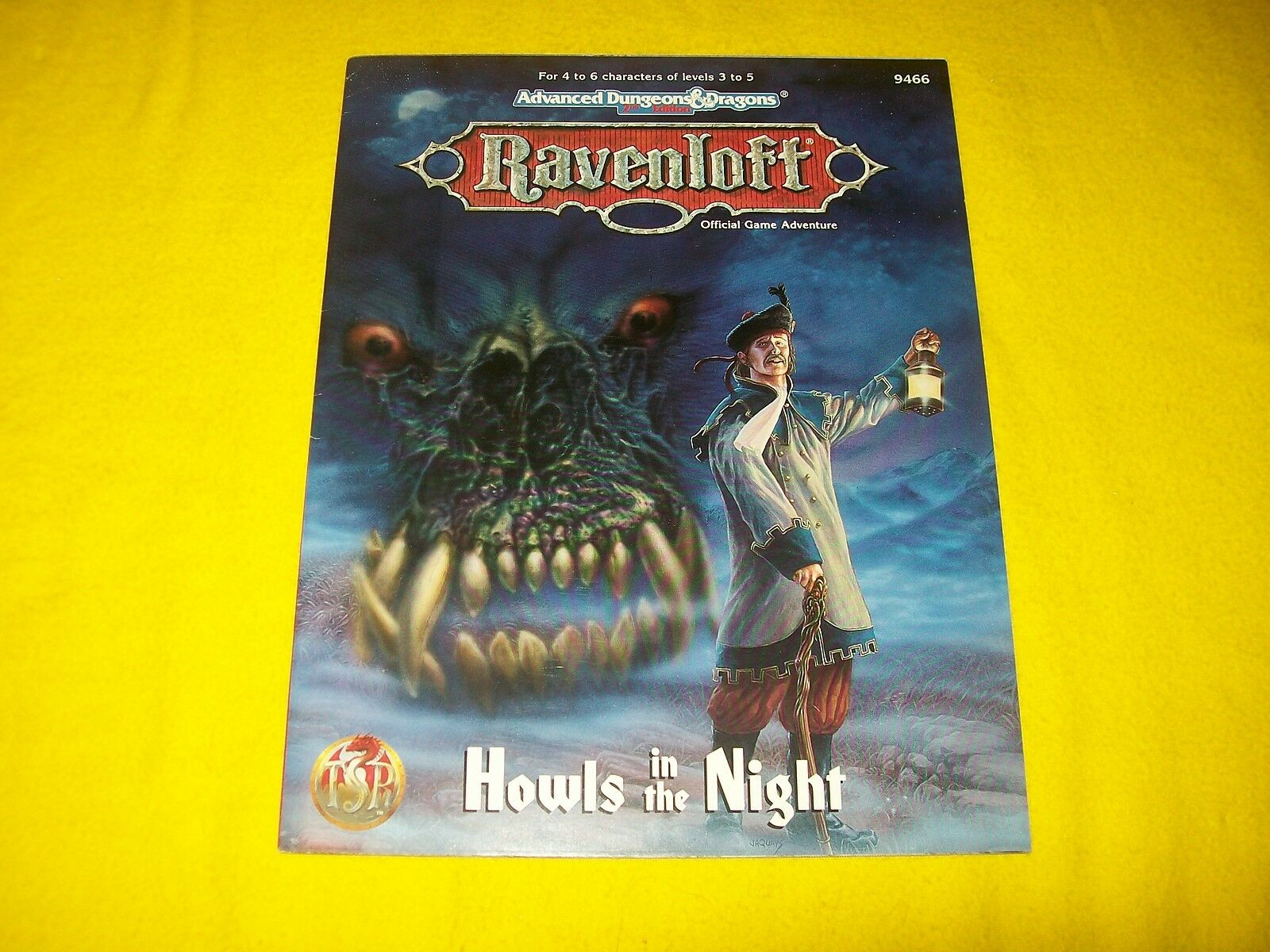 HOWLS IN THE NIGHT RAVENLOFT DUNGEONS & DRAGONS AD&D 2ND EDITION TSR 9466 - 2