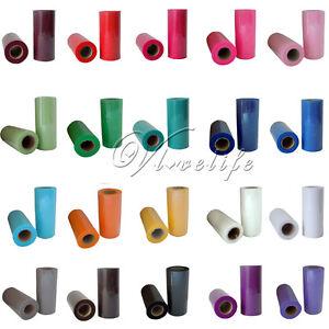 TULLE-Roll-Spool-6-034-x25yd-Fabric-For-Party-Decor-Chair-Sash-Bow-DIY-Tutu-Skirt