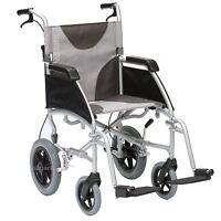 Drive Ultra Lightweight Aluminium Folding Transit Travel Wheelchair