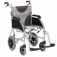 Drive Ultra Lightweight Aluminium Folding Transit Travel Wheelchair
