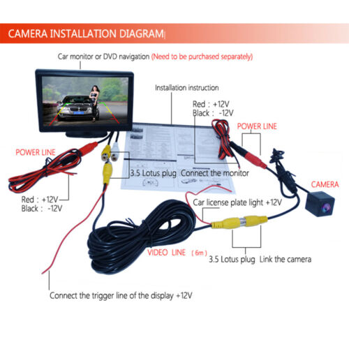 Car Rear View Reverse Backup Camera for Nissan Sunny Versa Bluebird Sylphy N17