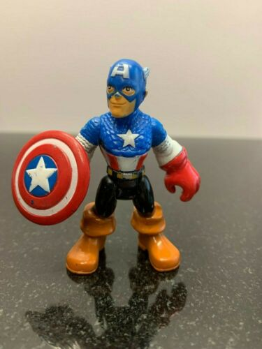 """Playskool Marvel Super Hero Adventures Sélectionnez ~ ta ~ Figure utilisé ~ loose 2.5/"""""""