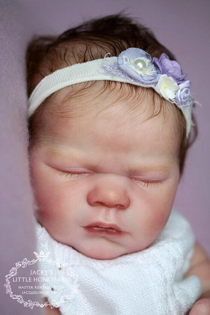 Realborn Kimberly addormentato in bianco le parti in vinile per creare un rinato BABY-non completato