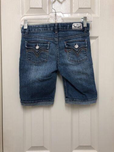 Girls Levi Bermuda Cropped Jeans/Size 10/Medium Wa