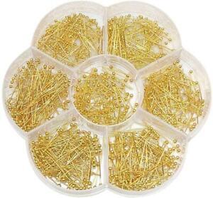 0.6mm*70mm Silver Head Pins Flat Heads DIY Pearl Earrings Jewelry Making Needles