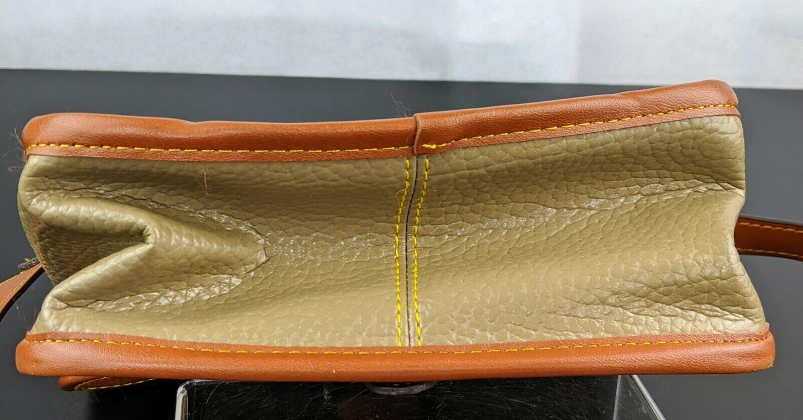 Dooney & Bourke Tan Brown Small Purse Handbag Tra… - image 11