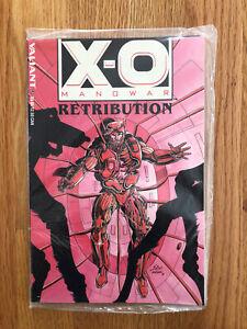 X-O Manowar Retribution (Valiant, 1993) with X-O Database #1 SEALED