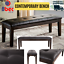 Contemporary-Bench-for-Dining-Room-Upholstered-Tufted-Elegant-Seat-Dark-Brown thumbnail 1
