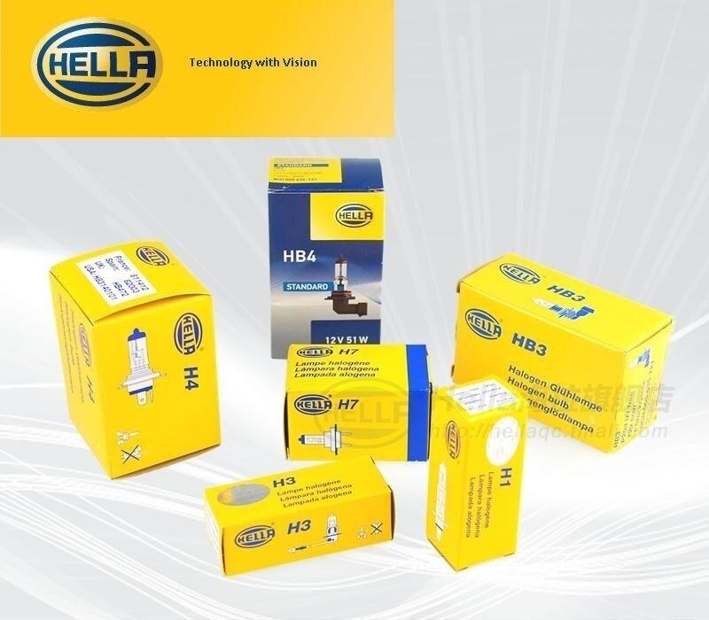 HELLA 2x QUALITY H1 BULB 12V 55W FOR ROTATING BEACONS HEADLIGHTS FOG HB448