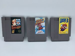 Super-Mario-Bros-NES-Trilogy-Nintendo-Entertainment-System-3-Game-Lot
