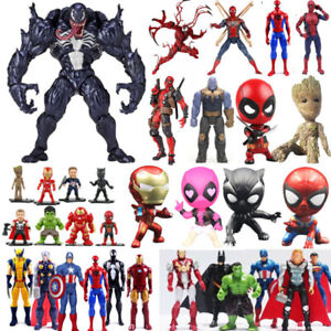 Venom-Superheld-Spiderman-Deadpool-Action-Figur-Figuren-Spielzeug-Sammlung-Neu