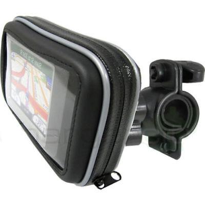 Motorcycle Handlebar Mount /& Waterproof Case For Garmin Nuvi 2597LM 2577LT GPS