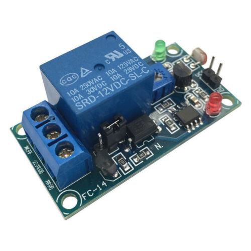 12V Photoresistor Light Photoswitch Detection Detector Relay Sensor Module