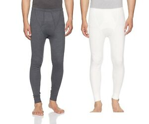 Jockey Men S Cotton Thermal Long Warm Pants Leggings Medium Size Pack Of 2 Ebay