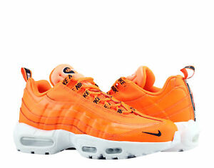 0e954b747b Nike Air Max 95 Total Orange/Black-White Men's Running Shoes 538416 ...