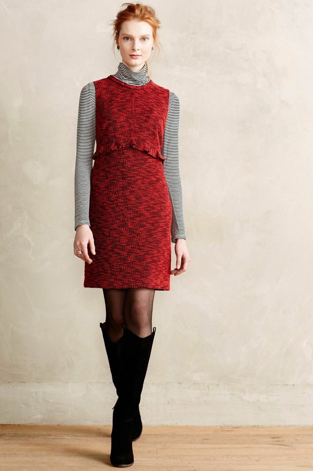 NIP Anthropologie Charlotte Tweed Sheath by Hi There from Karen Walker, Größe 14