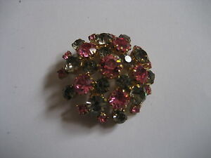 broche-strass-gris-et-roses-annees-50-60