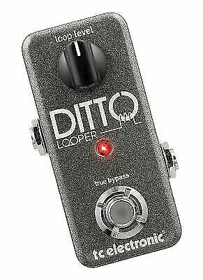 tc electronic guitar ditto looper effects pedal for sale online ebay. Black Bedroom Furniture Sets. Home Design Ideas