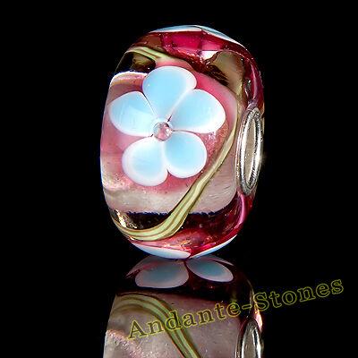 GESCHENK ANDANTE-STONES MASSIV 925 SILBER MURANO GLAS SEALIFE BEAD #1667
